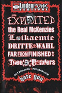 The Exploited / The Real McKenzies a.o. - Lindenpunk Festival