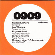 Brendan Benson / Zoot Woman / Love Is All a.o. - ME-CD Nr. 0909