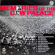 The Ronettes, Dionne Warwick, Betty Harris, The Drifters, Righteous Brothers - Memories Of The Cow Palace