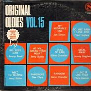 Jimmy Reed / Jerry Butler / Gene Chandler / Joe Simon / a.o. - Original Oldies Vol. 15