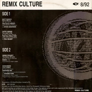 Various - Remix Culture 8/92