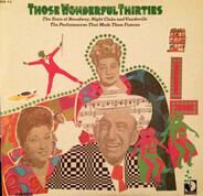 Libby Holman, The Foursome, a.o. - Those Wonderful Thirties
