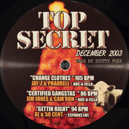 Jay-Z & Pharrell Williams, 50 Cent, a.o. - Top Secret Vol. 37 (December 2003)