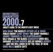 Nick Drake, Tim Buckley, Shivaree, a.o. - Unconditionally Guaranteed 2000.7 (Uncut's Guide To The Month's Best Music)