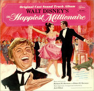 Various - Walt Disney's The Happiest Millionaire:  Original Cast Soundtrack