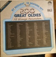 Bobby Lewis / Dion / Randy & The Rainbows etc. - 200 Great Oldies I'll Always Remember...Vol.2