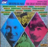Tino Rossi / Josephine Baker / a.o. - Souvenir De Paris (The Great French Stars)