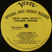 Vaughn Meader - Have Some Nuts!!! Vaughn Meader