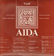 Giuseppe Verdi , Achille Braschi , Claudia Prada , Ettore Nava , Coro Del Teatro Comunale Di Firenz - Aida