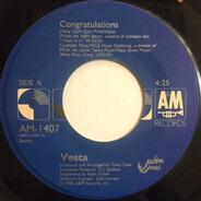 Vesta Williams - Congratulations / Once Bitten Twice Shy
