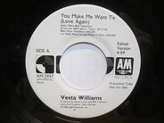 Vesta Williams - You Make Me Want To (Love Again)
