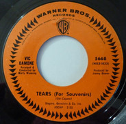 Vic Damone - Tears (For Souvenirs) / Never Too Late
