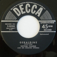 Victor Young And His Singing Strings - Geraldine