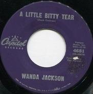 Wanda Jackson - A Little Bitty Tear / I Don't Wanta Go