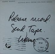 Warne Marsh - Release Record. Send Tape.