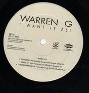 Warren G - I Want It All