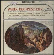 Weber/ J. Keilberth, Berlin Philharmnonic , E. Grümmer, L. Otto, R. Schock a.o. - Der Freischütz