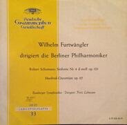Schumann - Sinfonie Nr. 4 D-Moll Op. 120  / Manfred-Ouvertüre Op. 115