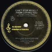 William Shakespeare - Can't Stop Myself (From Loving You)