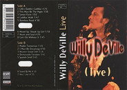 Willy DeVille - (Live)
