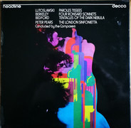 Witold Lutoslawski / Lennox Berkeley / David Bedford - Paroles Tissees / Four Ronsard Sonnets / Tentacles Of The Dark Nebula