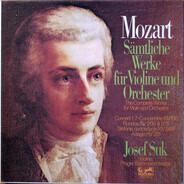 Mozart (Suk) - Sämtliche Werke für Violine und Orchester