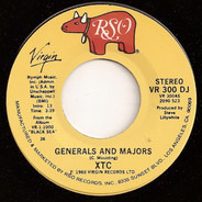 Xtc - Generals And Majors
