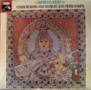 Yehudi Menuhin - Ravi Shankar - Jean-Pierre Rampal - Improvisations - West Meets East - Album 3