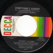 Yvonne Elliman - Everything's Alright / Heaven On Their Minds
