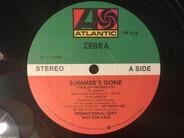 Zebra - Summer's Gone
