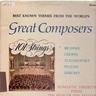 101 Strings, Brahms,.. - Best Known Themes From The World's Great Composers
