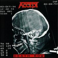 Accept - Death Row -HQ/Gatefold-
