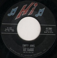 Ace Cannon - Empty Arms / Sunday Blues