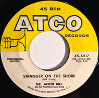 Acker Bilk And His Paramount Jazz Band - Stranger On The Shore