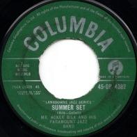 Acker Bilk And His Paramount Jazz Band - Summer Set