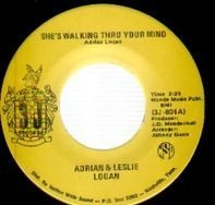 adrian & leslie logan - she's walking thru your mind
