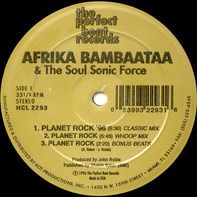 Afrika Bambaataa & The Soul Sonic Force - Planet Rock '96