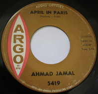 Ahmad Jamal - April In Paris / Like Someone In Love