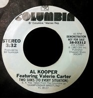 Al Kooper , Valerie Carter - Two Sides (To Every Situation) / Two Sides (To Every Situation)