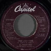 Al Martino - One Last Time / Here I Go Again