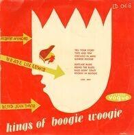 Albert Ammons , Meade 'Lux' Lewis , Blind John Davis - Kings Of Boogie Woogie