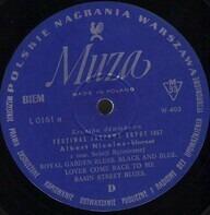 Albert Nicholas - Festiwal Jazzowy Sopot 1957
