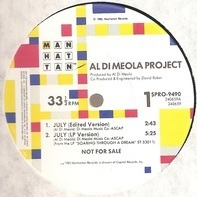 Al Di Meola Project - July / Capoeira