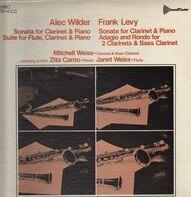 Alec Wilder / Frank Levy - Sonata f clarinet + piano / suite f flute, calrinet + piano ...
