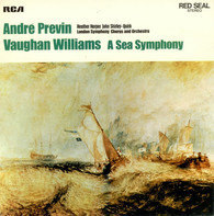André Previn / Heather Harper / John Shirley-Quirk / The London Symphony Orchestra / Ralph Vaughan - A Sea Symphony