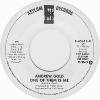 Andrew Gold - One Of Them Is Me
