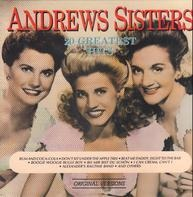 The Andrews Sisters - 20 Greatest hits