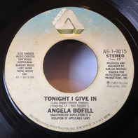 Angela Bofill - Tonight I Give In / Song For A Rainy Day