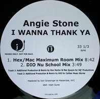 Angie Stone - I Wanna Thank Ya