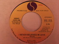 Annie Haslam - I Never Believed In Love